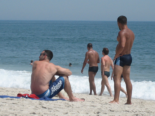 Fire island gay beach