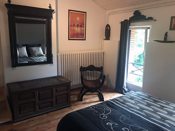 Chambre ColonialeGay Sejour
