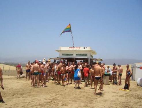 Playa del ingles nude beach