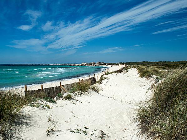 Playa de Es Trenc (Campos) 360º - YouTube