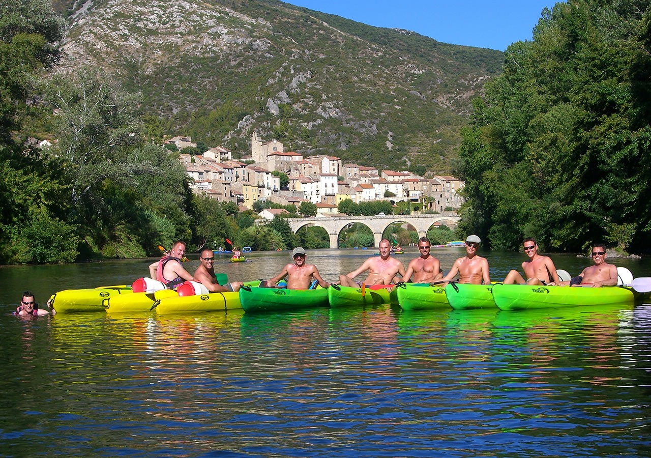 Group kayaking trips